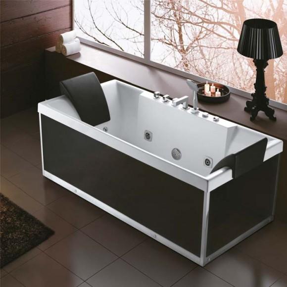 rectangle massage bathtub k-1100