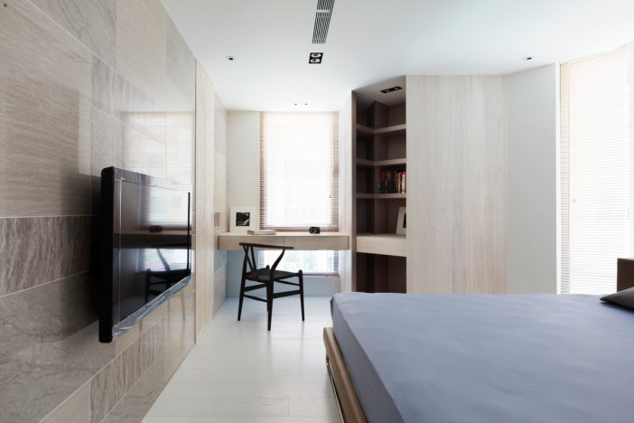Residence Chang in Taipei City, Taiwan by ATELIERII | Interior ...