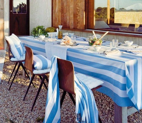 summer outdoor tablecloth aquatic themes 02