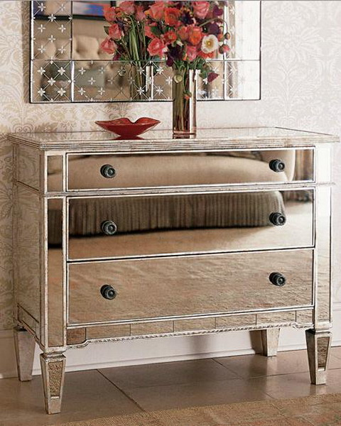 furniture mirrored chest 01
