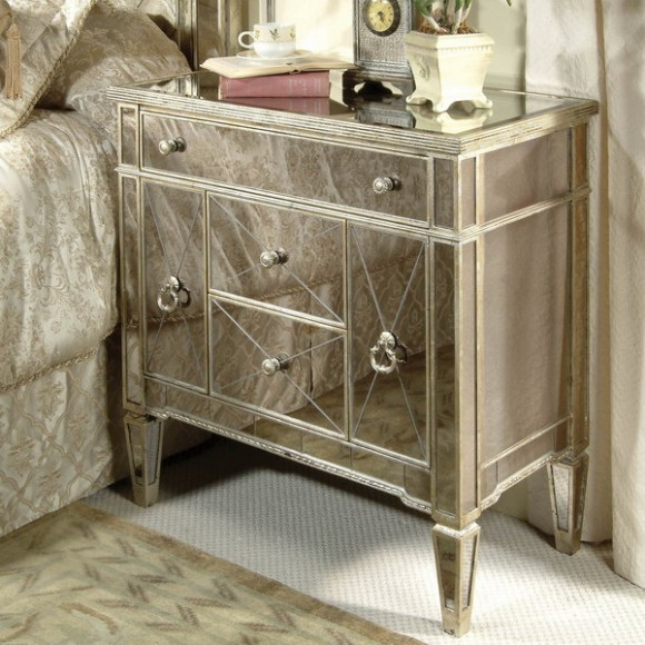 furniture mirrored chest 04