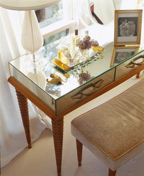furniture mirrored console table 01