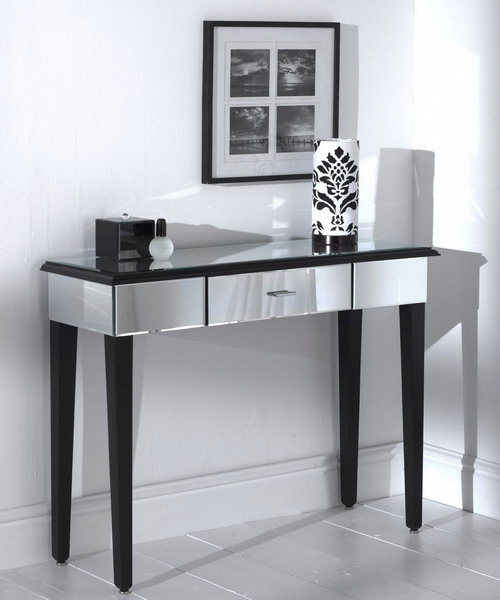 furniture mirrored console table 02