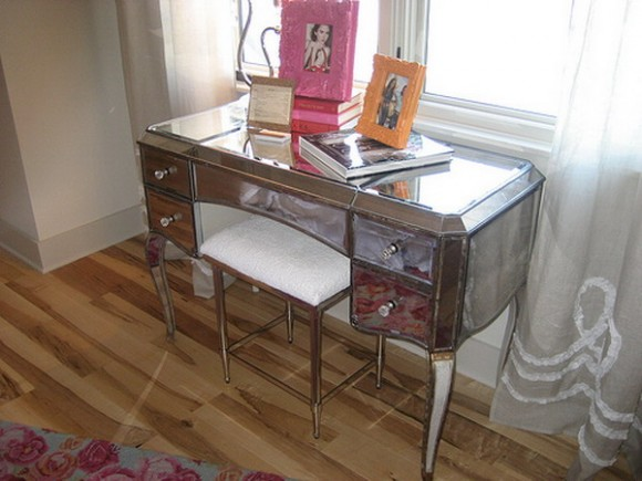 furniture mirrored vanity table 03