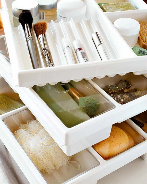 ideas of storing makeup products 06