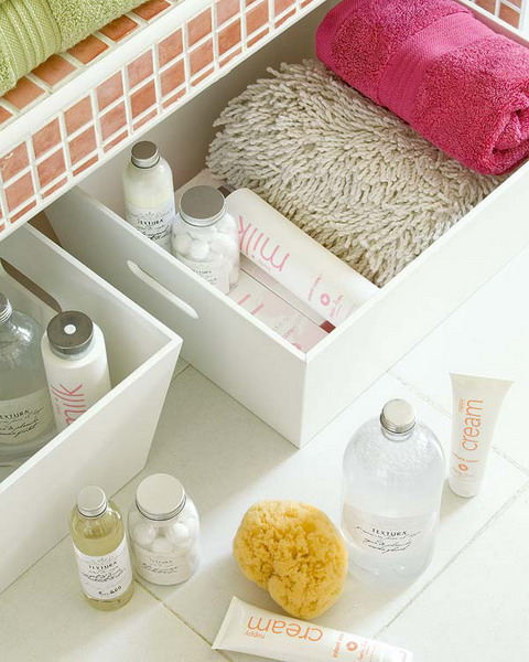 ideas of storing makeup products 09