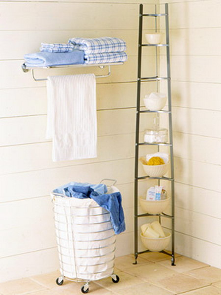 storage ideas in small bathroom 07 Perfect Ideas for Organization of Space the Small Bathrooms