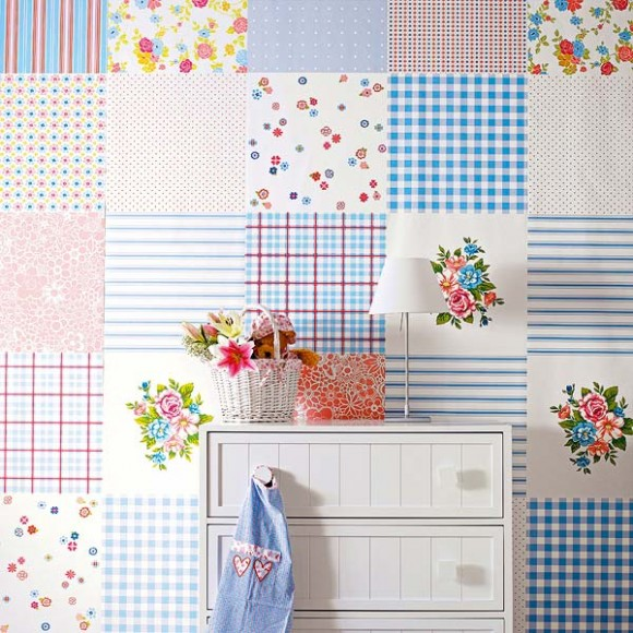 wall decor square pattern 01