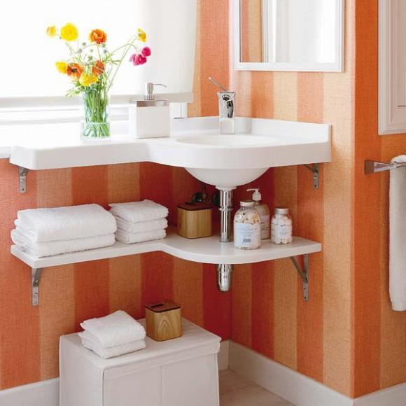 bathroom towels storage ideas under sink 01