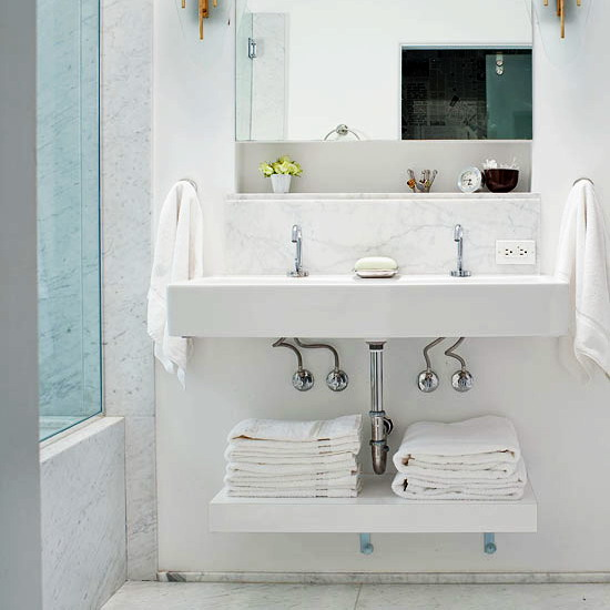 How To Store Towels In The Bathroom