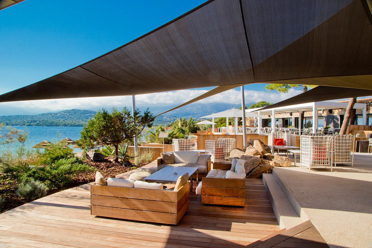 La plage casadelmar hotel in corsica france by jean for Design hotels south of france