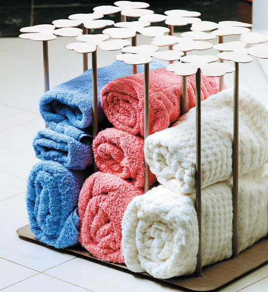 compact towel storage ideas 01