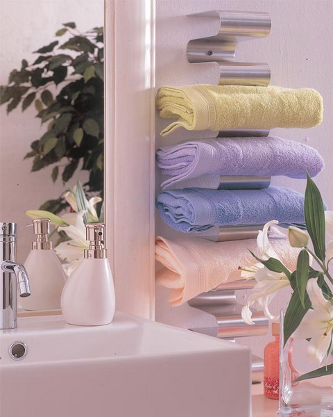 compact towel storage ideas 05