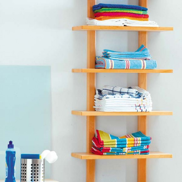 compact towel storage ideas 07