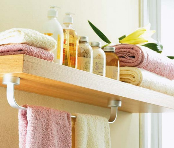 compact towel storage ideas 08