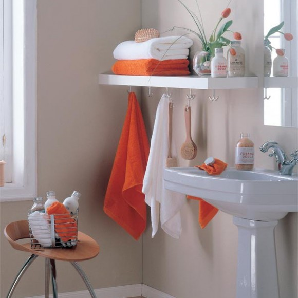 compact towel storage ideas 10