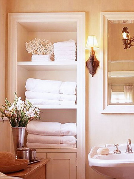 compact towel storage ideas 12