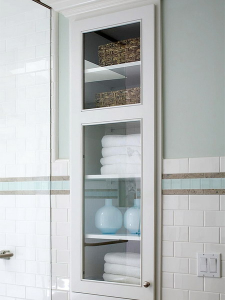 compact towel storage ideas 13