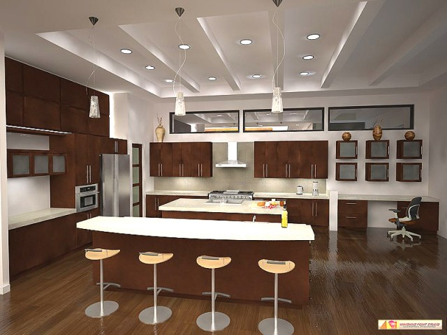 lighting kitchen ideas 02 - Kitchen Overhead Lighting Ideas