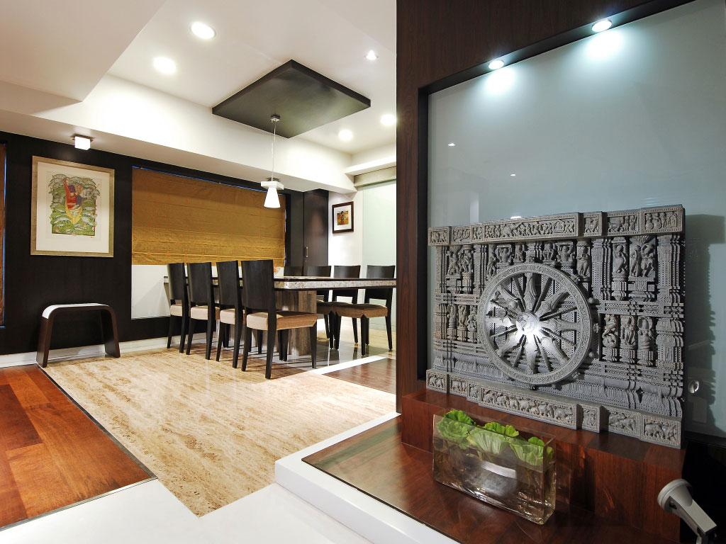 Maheshwari triplex in mumbai india by zz architects interior design ideas and architecture for Wall units for living room mumbai