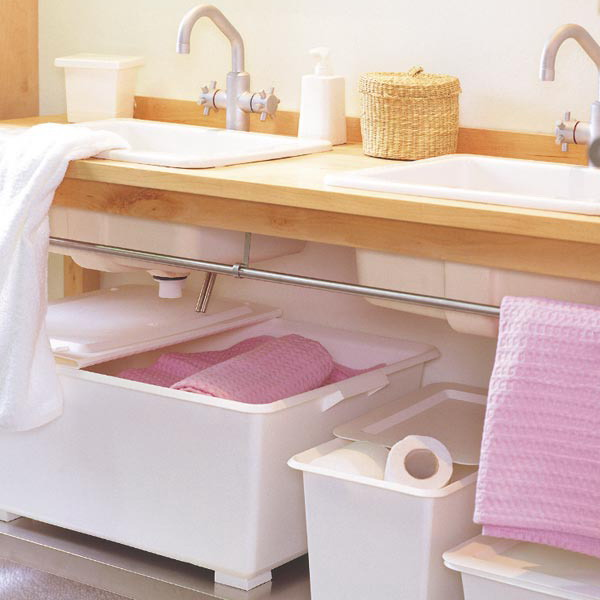 How To Store Towels In The Bathroom Very Functional