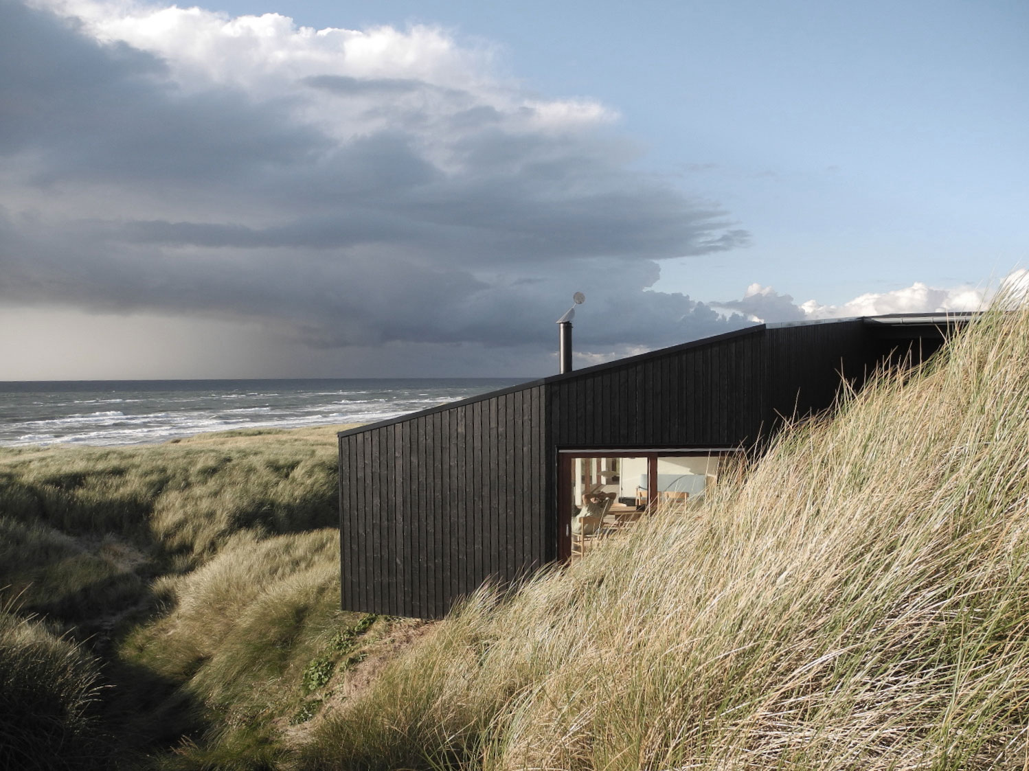 Vacation House Located In Henne Denmark Designed By Mette