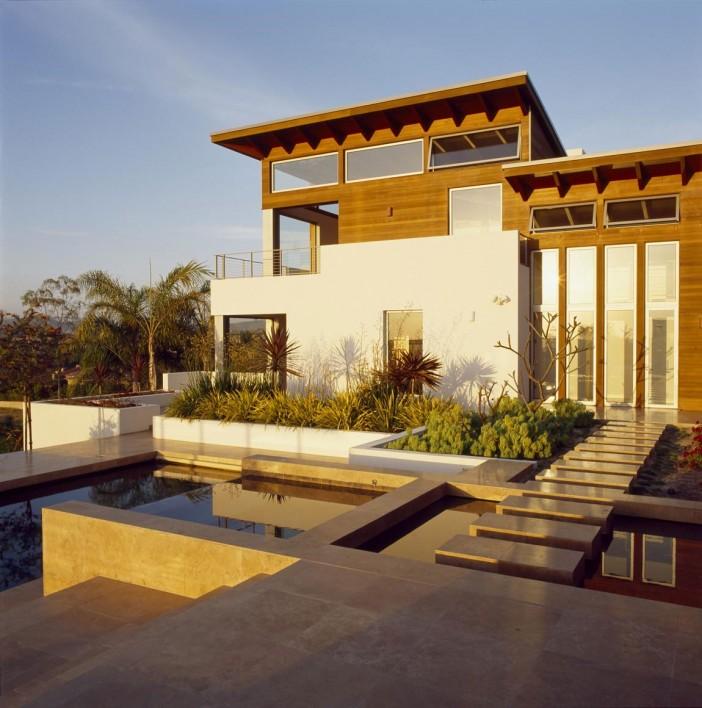 The Hilltop House In Rancho Santa Fe California By Safdie