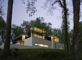 black white residence 01