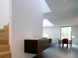 black white residence 04