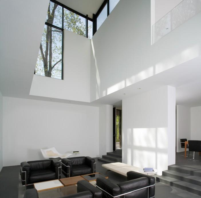 black white residence 05
