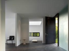 black white residence 07