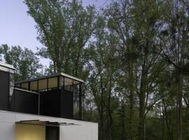 black white residence 09