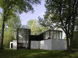 black white residence 10