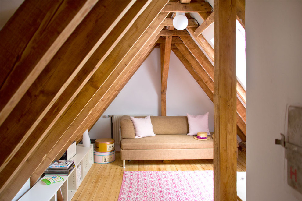 Nifty ideas for the attic living room An attic room