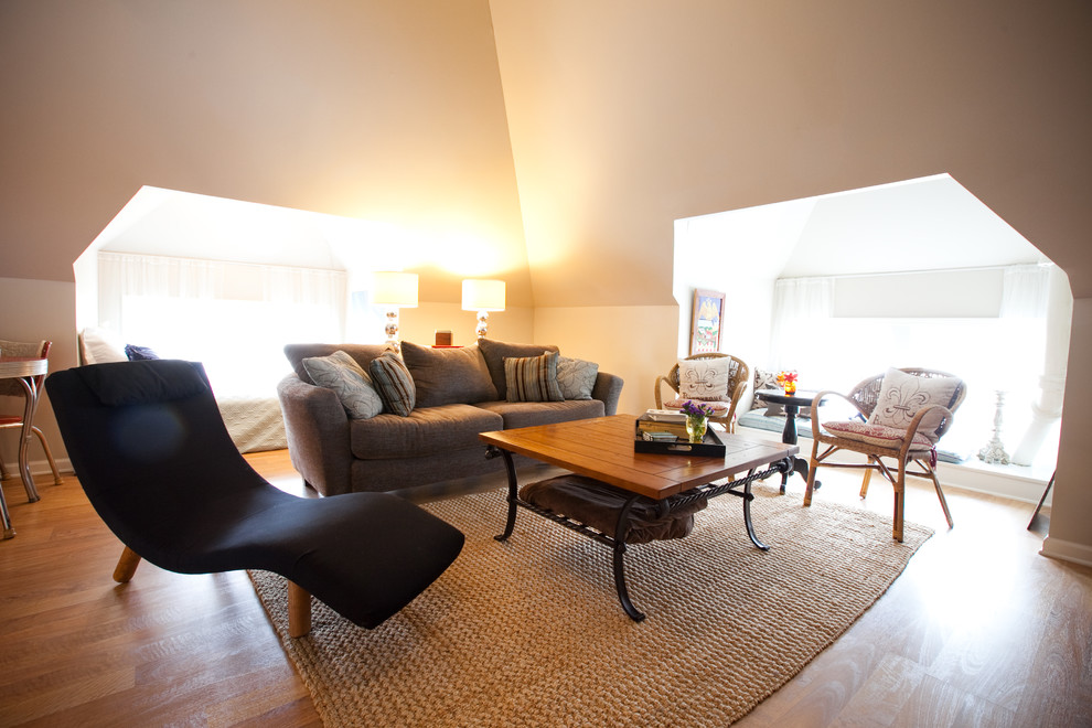Nifty ideas for the attic living room - Family room design ideas ...