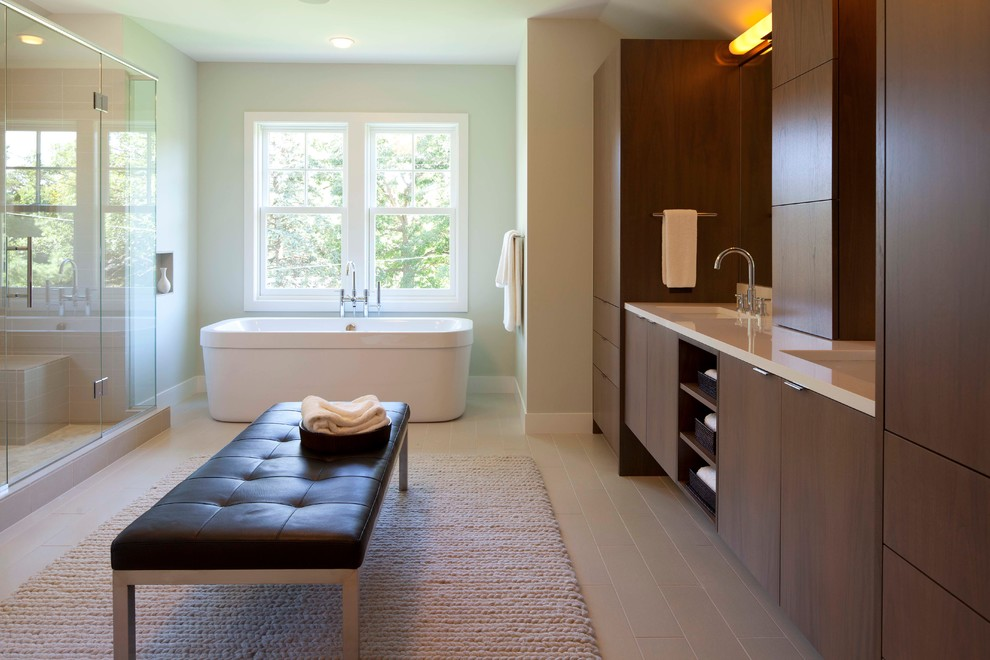 contemporary bathroom by elevation