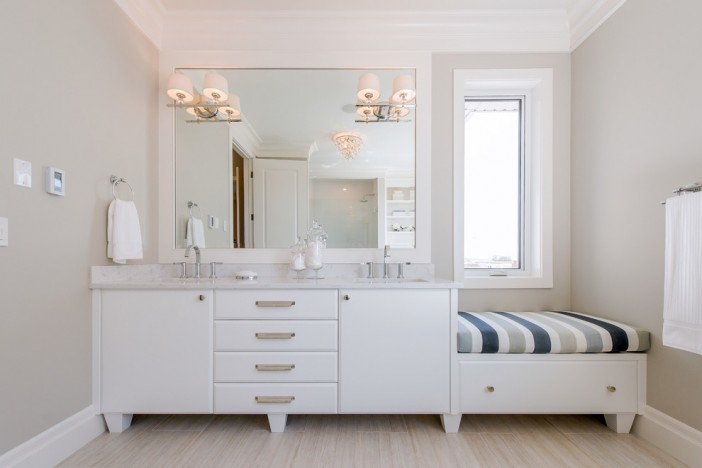traditional bathroom by maison fine homes