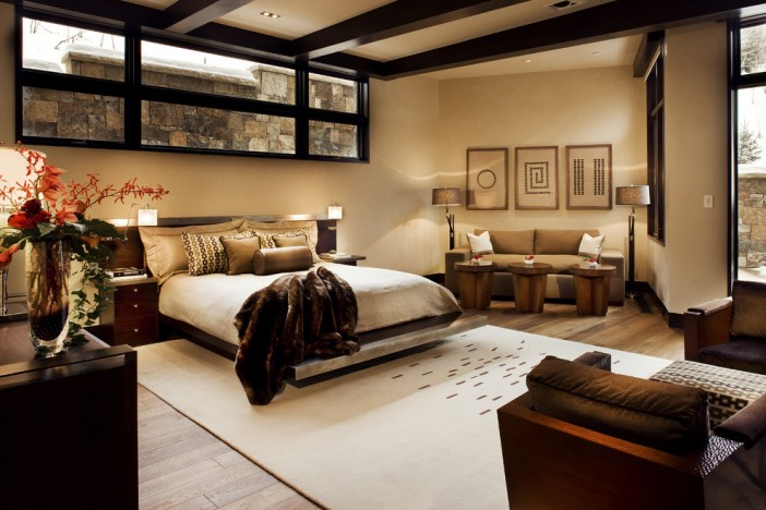 contemporary basement bedroom 01