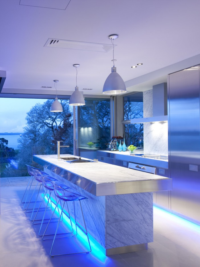 led light ideas for the kitchen