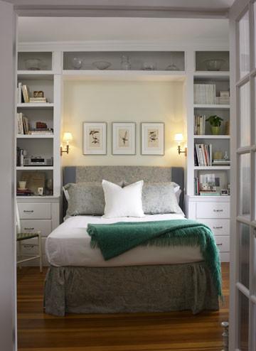 wall shevles bedroom ideas