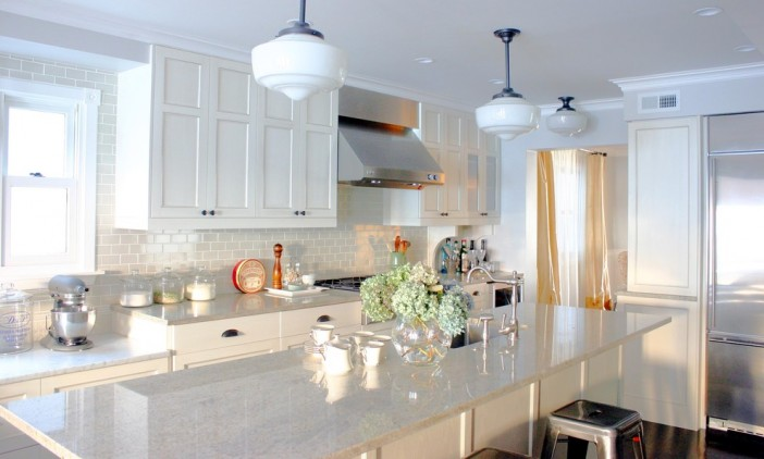what to have on the clean kitchen counter for more functional