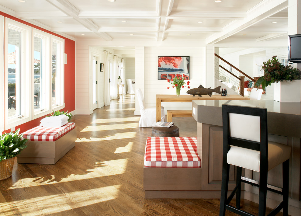 Style of the 70s in the modern interior designing