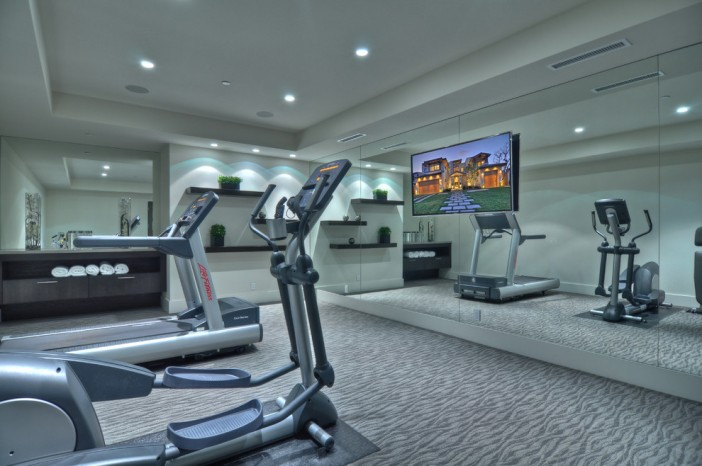 Best ideas on designing the gym in basement