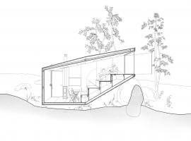 forest retreat by uhlik architekti 11