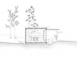 forest retreat by uhlik architekti 12