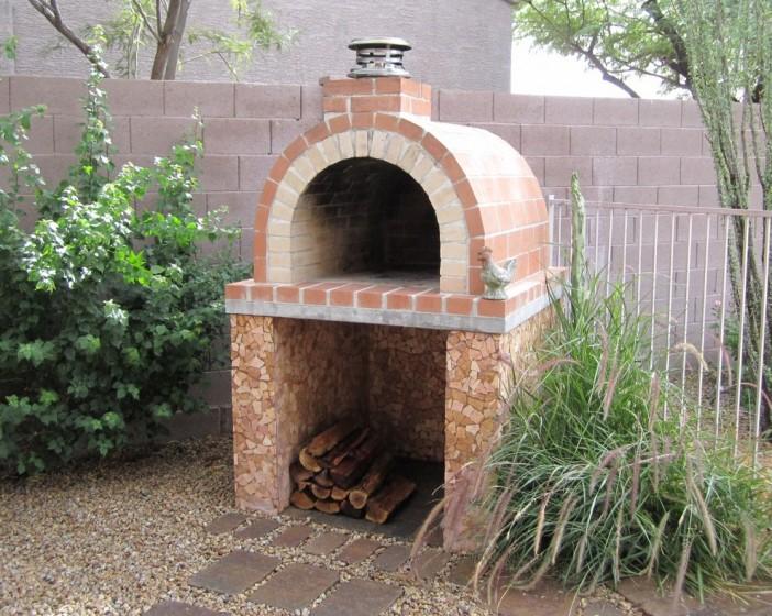 full firebrick diy pizza oven