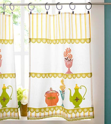 decorate the kitchen window