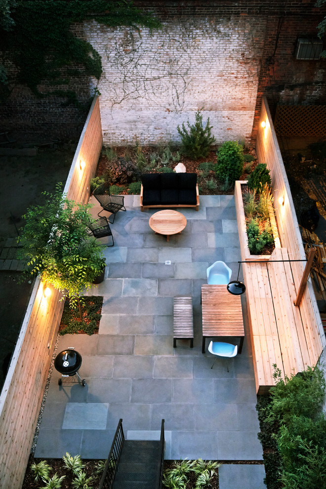 modern contemporary patio