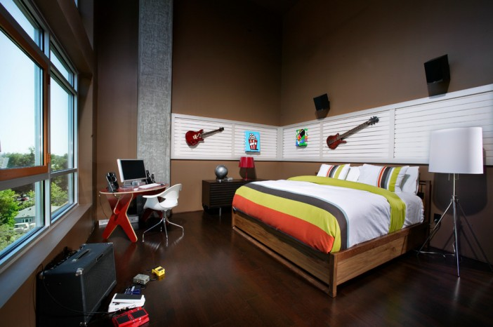 modern kids bedroom design by benning design associates