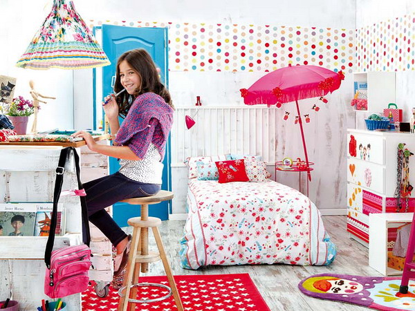 Make her glow with happiness by designing daughter s room - New bedroom ideas for teenage girl ...